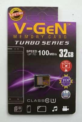 MMC HP Memory MicroSD V-GeN Turbo 32gb