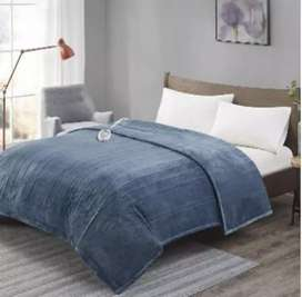 Electric heating blanket double bed