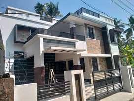Stylish new posh Villa in Kuriachira, Thrissur