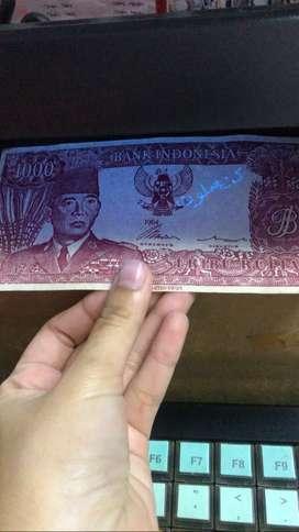 Uang kerta 1000 Sukarno 1964
