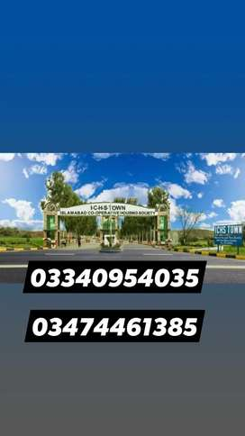 ICHS Town 5 Marla plot files urgent for sale at very Lowe price