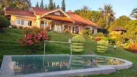 Vila / Villa Puncak view bagus dan murah.