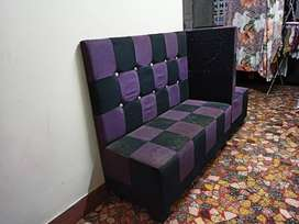 Sofa for sale very elegant and high back rest
