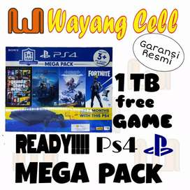 PS4 Mega pack 1TB free game