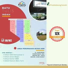 Area Dekat Perumahan Kebun Raya Bogor, Terima SHM, Tanah Batu Tulis