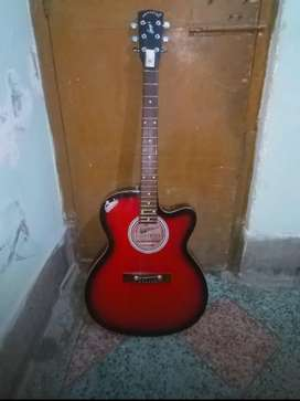 Signature Acoustic Semi-Electric Guitar -Red (emergency sale))