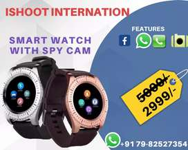 Smart watch with Spycam, Sim card and Memory carf