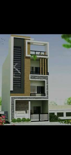 Newly constructed house for lease, Ground floor.