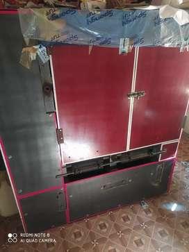 Fully automatic dona plates making machine