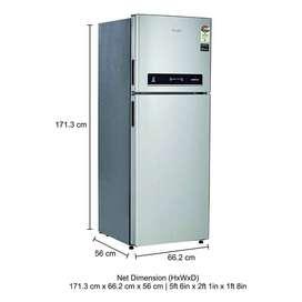 Whirlpool 292 L 4 Star Inverter Frost-Free Double-Door Refrigerator