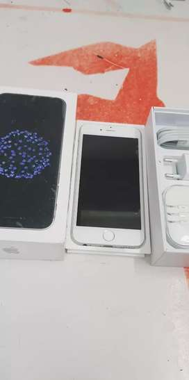 Brand new phone iPhone 6 64gb with bill box 6 month sellers warranty
