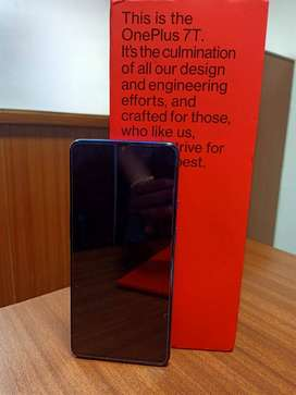 Oneplus 7T ( Brand New 1 month old ) 128 GB, Glacier Blue