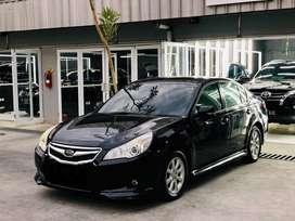 Subaru Legacy 2.0L AWD 2010 Black on Black (B) Standard Original