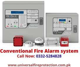 02 zone EUROFYRE CONVENTIONAL FIRE ALARM SYSTEM