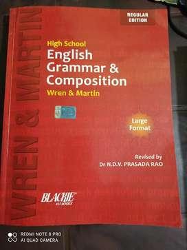 Good grammar book for competitive exam