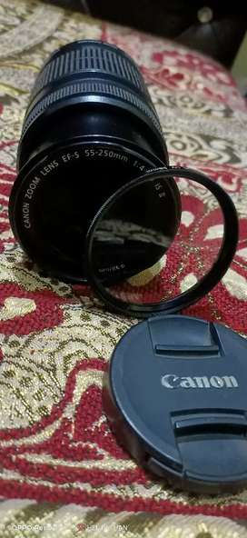 Camera DSLR with leance