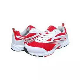Sepatu Running Spotec Vivo Merah Putih