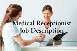 Need a female staff for medical store