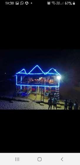 Beach shack for rent