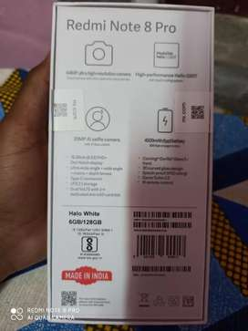 Redmi note 8 pro 128gb only ten days old