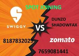 ZOMOTO SWIGGY AND DUNZO SHADOWFAX DELIVERY EXECUTIVE WEEKLY PAYMENT