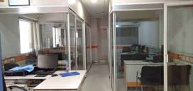 1100 Sq. ft. office for rent in Rajarampuri.