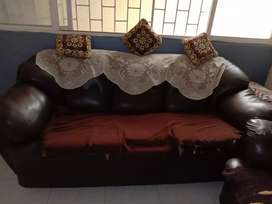 Leather sofa  5 seater