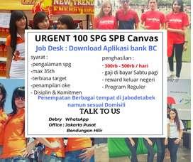 Need urgent Lowongan Loker Dibutuhkan Segera 10 SPB SPG Event Reguler