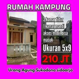 Rumah kampung bebas banjir