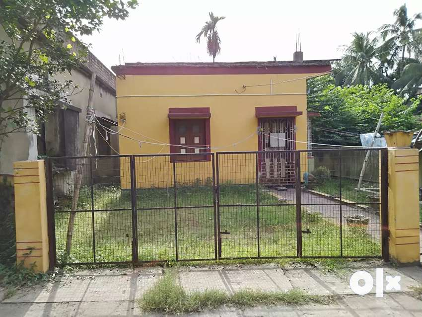 1 Katha 12 Chatak Land with 500 sq.ft. House can b used as commercial 0