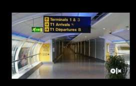 Ground Staff In Airports-Job location ;- Age limit :- 18 to 48.  Many