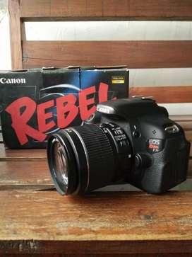 Canon 600d Series rebel T3i No minus
