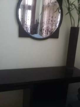 Beautiful console with Mirror for bed room