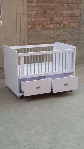 Beautiful baby cot for and girl