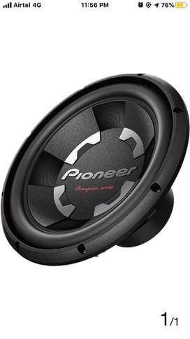 Pioneer dual coil woofer for sale with box