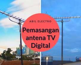 Menerima Jasa Pasang Baru Antena Tv digital