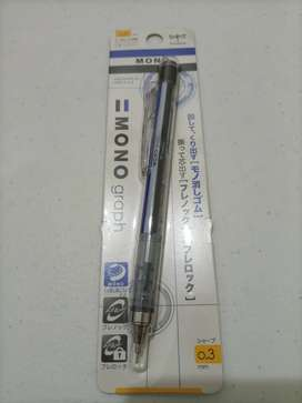Pensil Mekanik Tombow Monograph 0.3mm Made in Japan