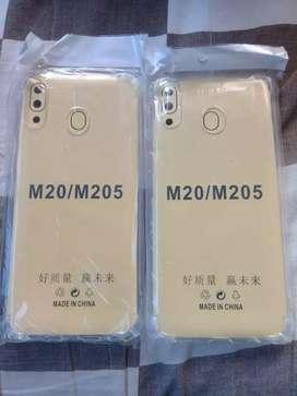 New Samsung M20 Softcase Anti crack Tebal