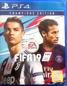 Second - BD PS4 FIFA 19 Champions Edition