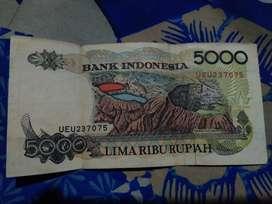 Jual uang kuno pecahan 5000
