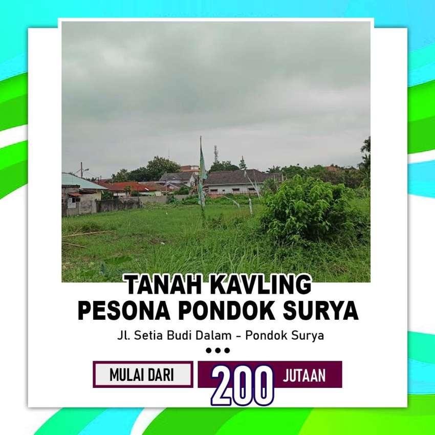 di jual tanah kavling Jl. Setia Budi Dalam - Pondok Surya, Medan Helve