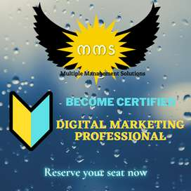 Become Certified Digital Marketing Professional