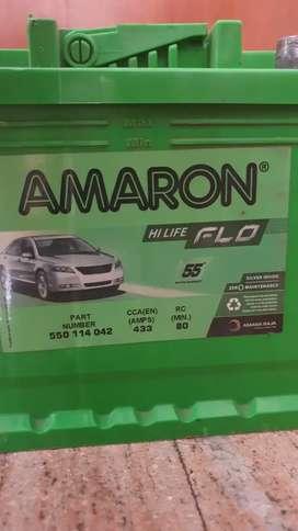 Amaron battery high flo Din 50