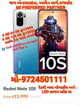 Redmi note 10 S,mi all model available