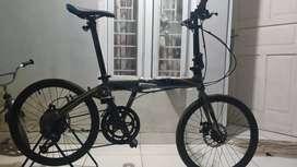 Full Bike XLR8 18Speed Sepeda lipat not Dahon FNHON Tern