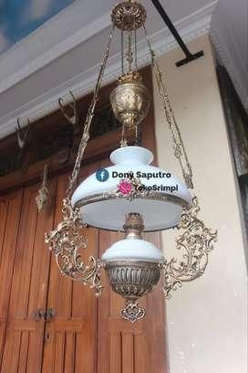 Lampu Gantung Dinding Klasik - Hiasan Dekorasi Rumah Cafe Hotel