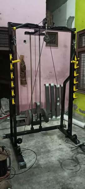 We are  manufacturing gym equipments