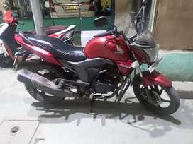 Honda CB Trigger Red colour
