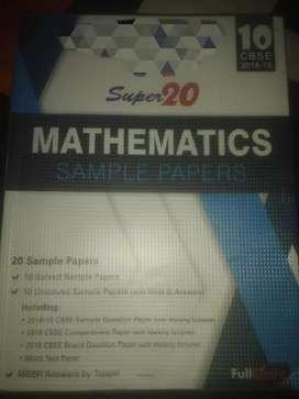 Mathematics saple paper class 10