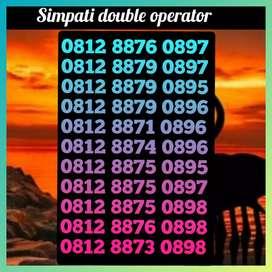 Nomor cantik simpati double operator